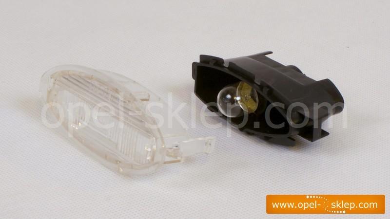 Lampka Oświetlenia Tablicy Rejestracyjnej Astra F Corsa B